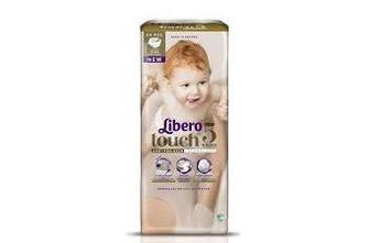 Підгузки Libero Touch Розмір 5 (10-14 КГ) 44 шт
