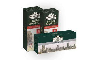 Чай чорний Ерл Грей з бергамотом, Інгліш брекфест Ахмад 25х2 г