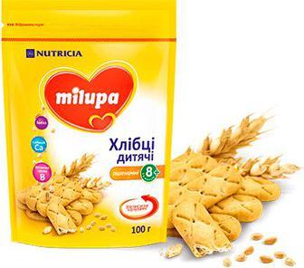 Хлібці Milupa дитячі Пшеничні 100 г
