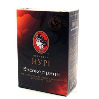 Чай чорний листовий Високогірний Принцеса Нурі 90г