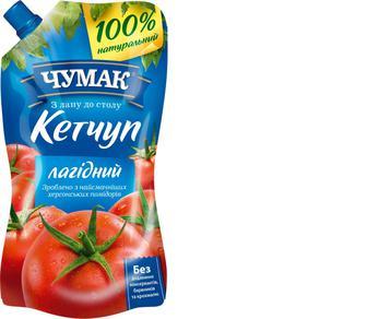 Кетчуп Лагідний, Чумак, 450г