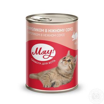 Корм для кішок Мяу 415 г