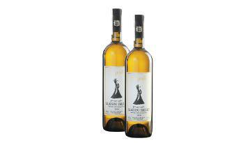 Вино Алазанська Долина біле напівсолодке Бугеулі 0,75 л