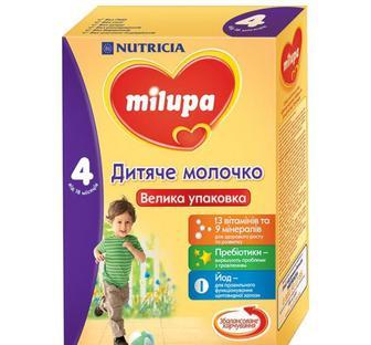 Детская сухая молочная смесь Milupa 4, 600 г