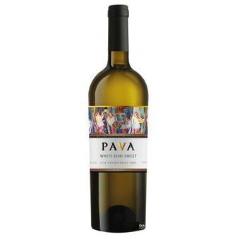 Вино   PAVA  белое, красное п/сл, 0,75 л