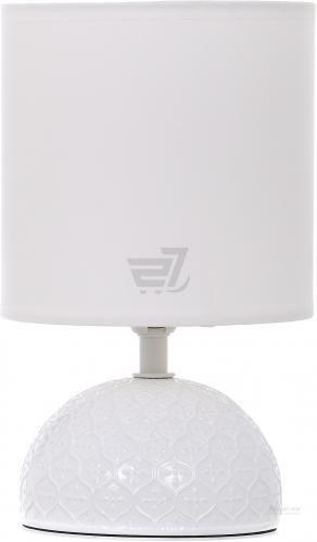 Настільна лампа декоративна Accento lighting 1x40 Вт E14 білий ALT-T-D4020W