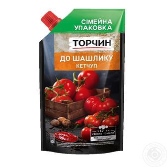КЕТЧУП лагідний до шашлику, 400 г ТОРЧИН