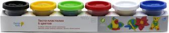 Набір маси для ліплення Genio Kids Тісто-пластилін 6 кольорів ТА1009