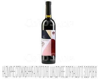 Вино червоне, сухе 0,75 л, ТМ Князь Трубецкого