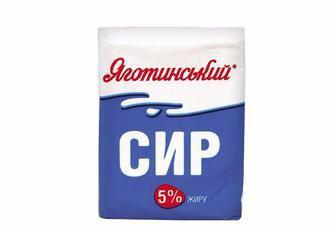 Сир кисломолочний 5%  Яготинський 200 г