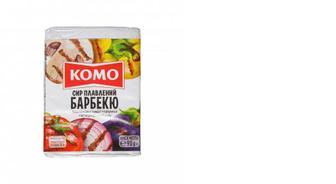 Сыр плавленый Барбекю 55%, КОМО 90г