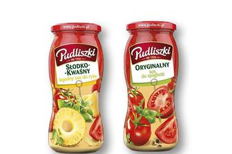 Соус «Кисло-солодкий» з ананасами/ «Оригінальний» до спагеті «Pudliszki» 500 г