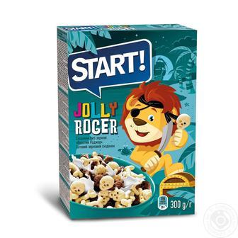 Сухі сніданки Старт Веселий Роджер зернові 300г