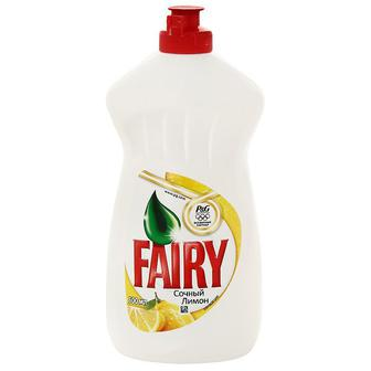 Средство для мытья посуды FAIRY Сочный лимон, 500мл