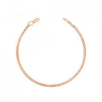 Золотой браслет с алмазной гранью. Артикул 77912
