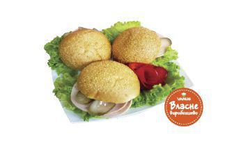Гамбургер з шинкою і сирним соусом 200 г