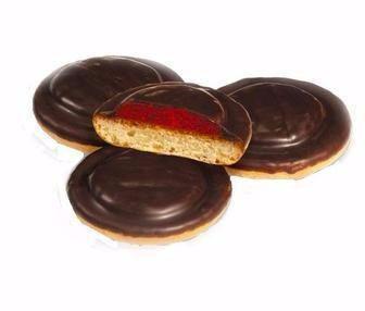 Печенье сдобное збивное со вкус. вишни Делиция 100 г