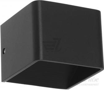 Світильник настінний Expert Light 6 Вт IP44 чорний ELG-9201BC