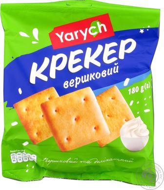 Крекер Yarych Вершковий 180г