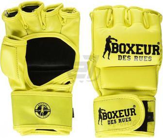 Рукавички для MMA Boxeur BXT-5137 р. M жовтий