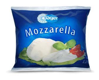 Сир Jager «Моцарела» 45% жиру, 125г