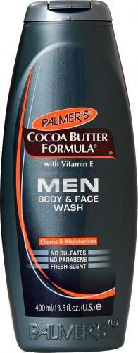 Гель для душу Palmer's для обличчя і тіла з олією какао та вітаміном Е 400 мл