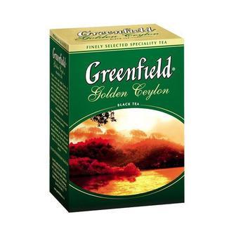 Чай чорний Гринфилд Голден Цейлон 200г