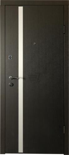 Двері вхідні LINEA-M венге 2050x860 мм праві