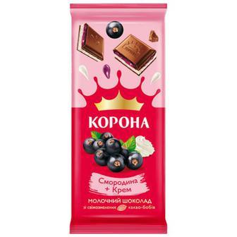 Шоколад Корона смородина-крем 85г
