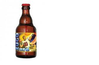 Напиток сброженный Дыня-Яблоко, HUGO, 0,33л