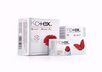 Засоби гігієни Kotex