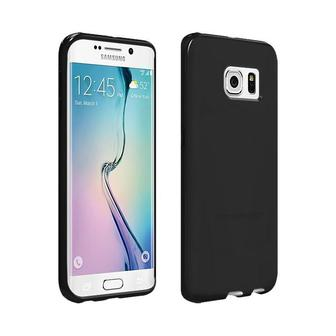 Verizon High Gloss Silicone Case for Samsung Galaxy S6 Edge Black
