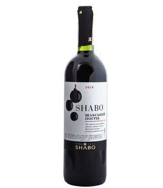 Вино напівсолодке біле, червоне Shabo 0,75л