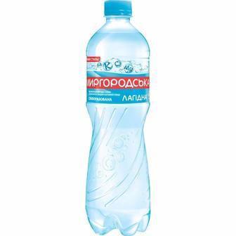 Вода природна мінеральна слабогазовона  Миргородська Лагідна 1.5 л
