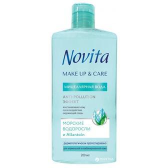 Мицеллярная вода Novita Make up & Care 200 мл