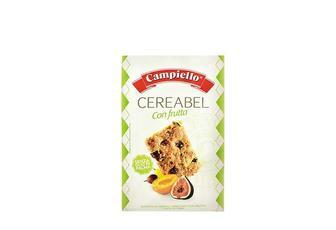 Пeчиво Cereabel Сon frutta, цiльнозepновe з сухофpуктами Campiello 220 г