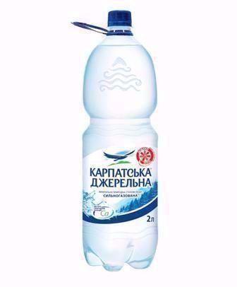 Вода мінеральна Карпатська Джерельна 2л