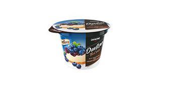 Десерт Даніссімо чорничний чізкейк, Наполеон, Тірамісу 6,4% стакан, 230г, Данон