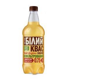 Квас Тарас Білий хлібн.нап.брод. сил/газ пет, 0.75 л