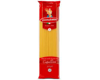 Вироби макаронні Pasta ZARA Capellini, 500г