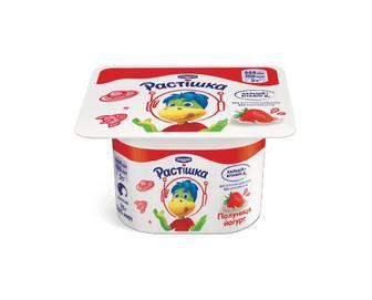 Йогурт «Растішка» з фруктовим наповнювачем полуниця, 2% жиру, 115г