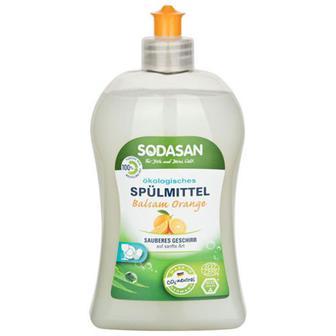 Засіб Sadosan для миття посуду Апельсин 0,5л