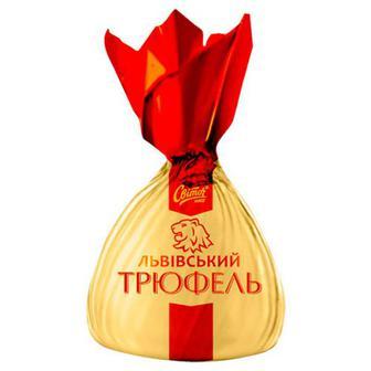 Цукерки Світоч Трюфель Львівський ваг