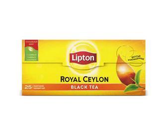 Чай чорний байховий Lipton Royal Ceylon, 25×2г