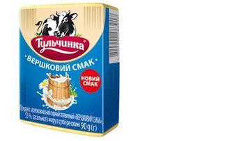 Продукт сырный плавленный «Сливочный вкус» 55%, Тульчинка, 90г