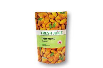 Крем-мило Almond, жидкое с увлажняющим миндальным молочком Fresh Juice 460 мл.