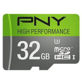 PNY MicroSDHC 32GB Class 10, U3 P-SDU32GU360G-GE, OEM упаковка