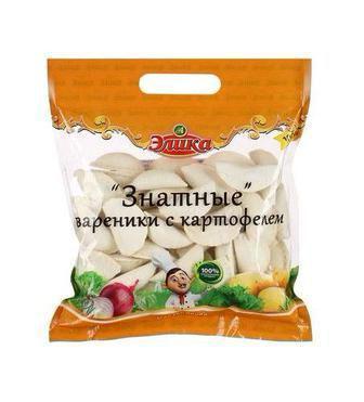 Вареники з картоплею  Знатні  Еліка 1 кг