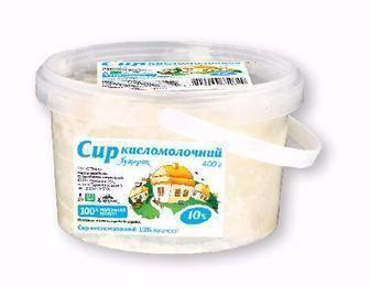 Сир кисломолочний 10% Хуторок 400 г