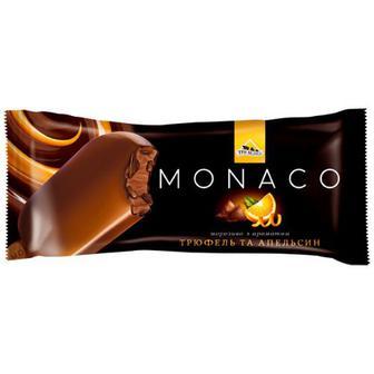 Скидка 45% ▷ Морозиво Три Ведмеді Monaco трюфель-апельсин 80г